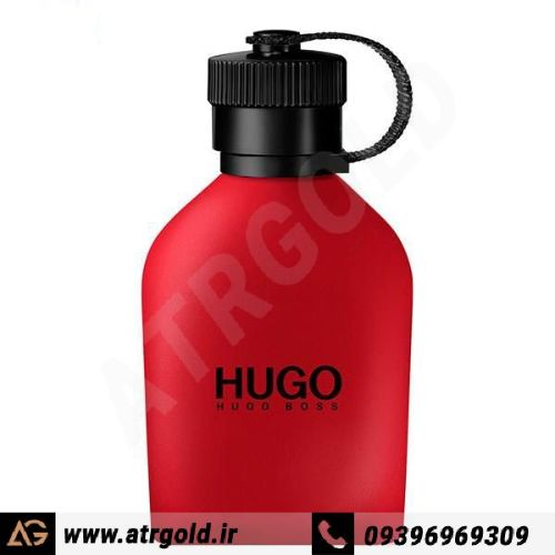ادو تویلت مردانه هوگو باس مدل Hugo Red حجم 125 میلی لیتر