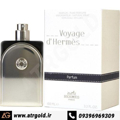 ادو پرفیوم مردانه هرمس مدل Voyage d`Hermes حجم 100 میلیلیتر