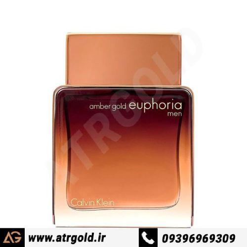 ادو پرفیوم مردانه کلوین کلاین مدل Euphoria Amber Gold حجم 100 میلی لیتر
