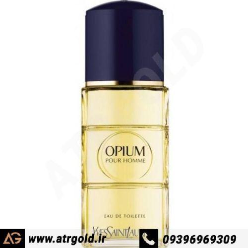 ادو تویلت مردانه ایو سن لوران مدل Opium Pour Homme حجم 100 میلی لیتر