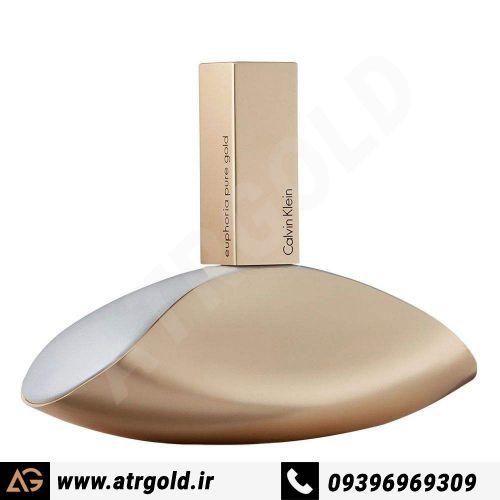 ادو پرفیوم زنانه کلوین کلاین مدل Euphoria Pure Gold حجم 100 میلی لیتر