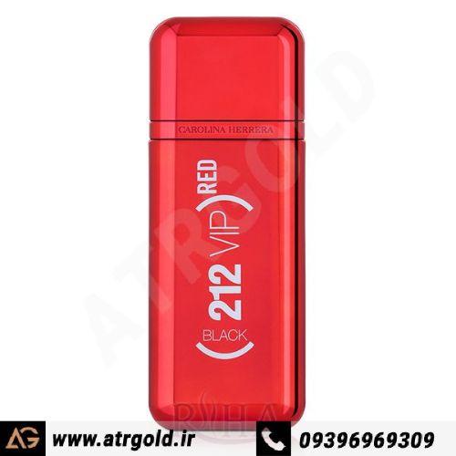 ادو پرفیوم مردانه کارولینا هررا مدل 212 Vip Black Red Limited Edition حجم 100 میلی لیتر